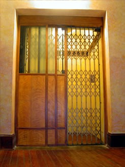 Edgewater Hotel Elevator from 1926