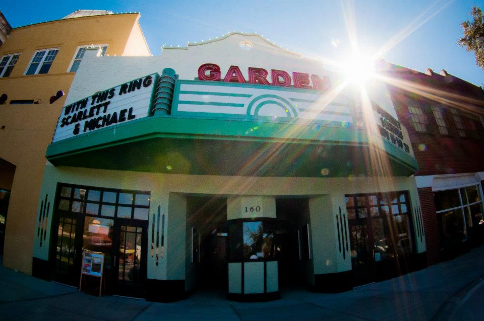Outside of Garden Theater