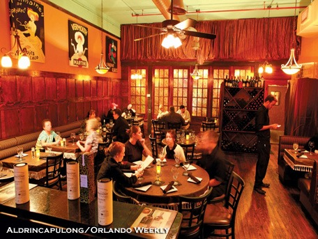 People eating in Dining Room